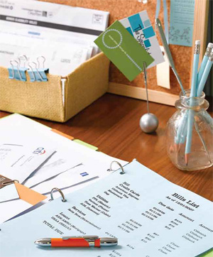 How to Create a Financial Binder | Getting Finances Done